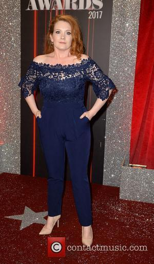 Jennie McAlpine arrives at the Lowry Theatre for the British Soap Awards 2017 - Manchester, United Kingdom - Saturday 3rd...