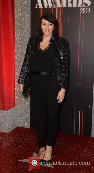 Martine McCutcheon arrives at the Lowry Theatre for the British Soap Awards 2017 - Manchester, United Kingdom - Saturday 3rd...
