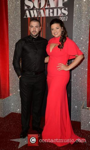Shayne Ward arrives at the Lowry Theatre for the British Soap Awards 2017 - Manchester, United Kingdom - Saturday 3rd...