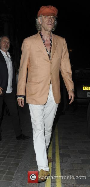 Sir Bob Geldof seen leaving The Chiltern Firehouse - London, United Kingdom - Saturday 3rd June 2017