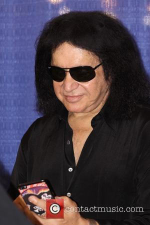 Gene Simmons of Kiss signs autographs at the 2017 Wizard World Comic Con held at the Pennsylvania Convention Center -...