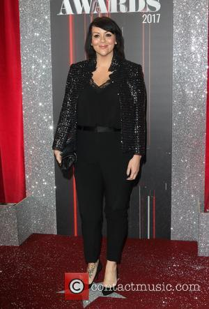 Martine McCutcheon at The 2017 British Soap Awards held at The Lowry - Salford Quays, Manchester, United Kingdom - Saturday...