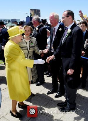 Queen Elizabeth Ii at Epsom Downs Racecourse
