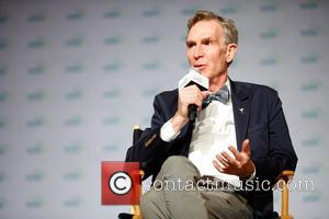 Bill Nye discusses his new book, 'Real Science, Big Adventure,' during 2017 BookCon held at the Jacob K. Javits Convention...