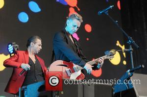 Dave Gahan and Martin Gore
