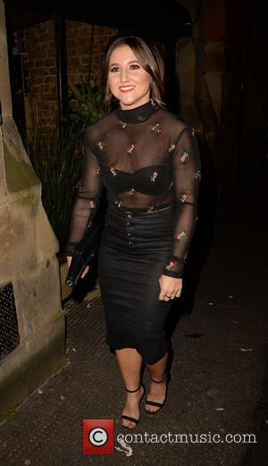 Jazmine Franks and various other celebrities arrive at the Smokehouse Manchester for the Hollyoaks Soap Awards after party - Manchester,...