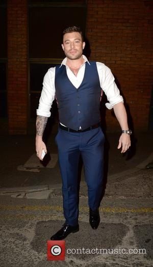 Duncan James and various other celebrities arrive at the Smokehouse Manchester for the Hollyoaks Soap Awards after party - Manchester,...