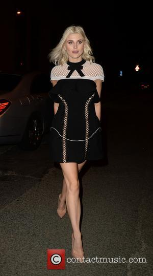Ashley James and various other celebrities arrive at the Smokehouse Manchester for the Hollyoaks Soap Awards after party - Manchester,...
