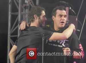 Howard Donald and Robbie Williams