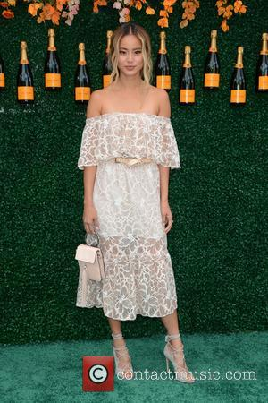 Jamie Chung at the Tenth Annual Veuve Clicquot Polo Classic held at Liberty State Park - Jersey City, New Jersey,...