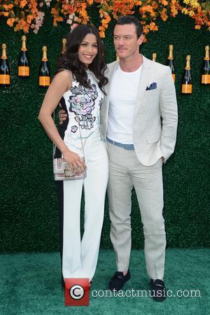 Freida Pinto and Luke Evans