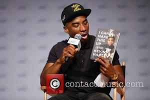 Kevin Hart discusses his new book 'I Can't Make This Up: Life Lessons' with Charlamagne Tha God during the 2017...