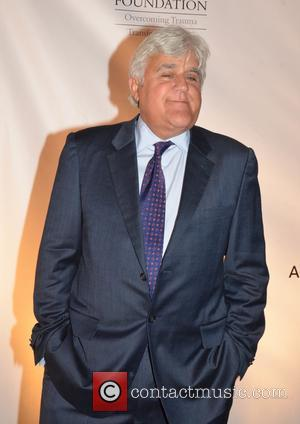 Jay Leno at the David Lynch Foundation event A National Night Of Laughter And Song. Held at the John F....