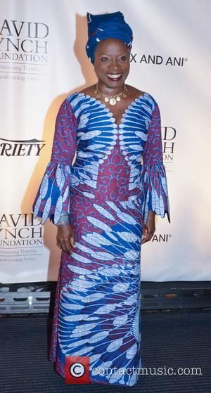 Angelique Kidjo at the David Lynch Foundation event A National Night Of Laughter And Song. Held at the John F....