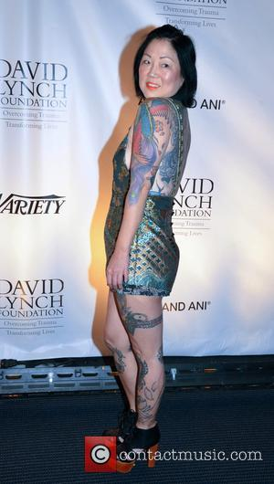 Margaret Cho at the David Lynch Foundation event A National Night Of Laughter And Song. Held at the John F....