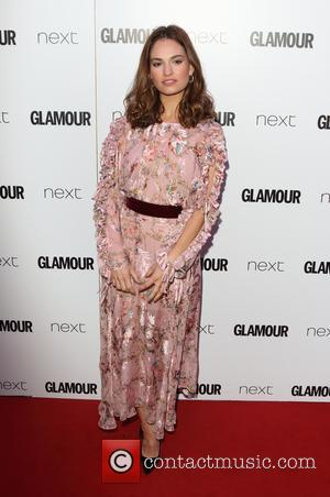 Lily James at the 2017 Glamour Women of the Year Awards - London, United Kingdom - Tuesday 6th June 2017