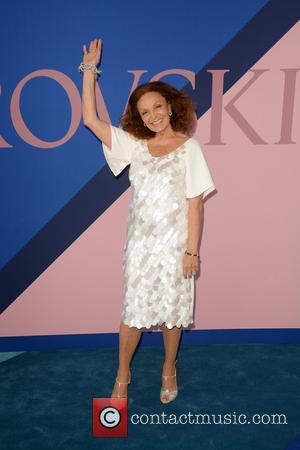 Diane von Furstenberg at the 2017 CFDA  Awards held at Hammerstein Ballroom - New York, United States - Tuesday...