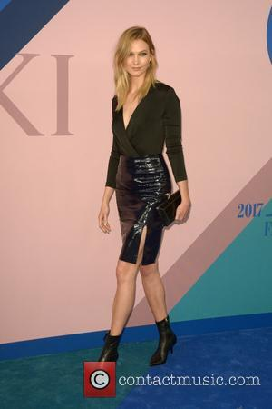 Karlie Kloss at the 2017 CFDA  Awards held at Hammerstein Ballroom - New York, United States - Tuesday 6th...