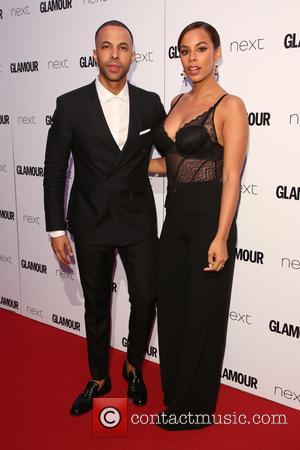 Marvin Humes, Rochelle Wiseman and Rochelle Humes at the 2017 Glamour Women of the Year Awards - London, United Kingdom...