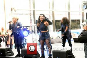 TLC performing at the I Love the 90's concert as part of the Today show concert series - New York,...