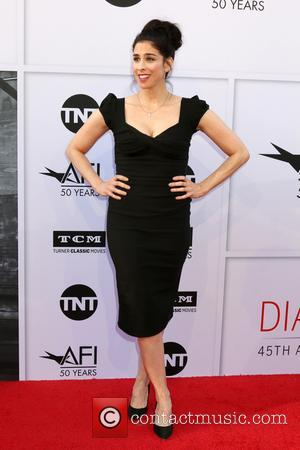 Sarah Silverman at the American Film Institute's Lifetime Achievement Awarded to Diane Keaton. The event was held at the Dolby...