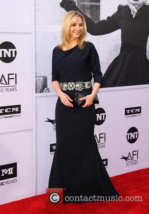 Lisa Kudrow at the American Film Institute's Lifetime Achievement Awarded to Diane Keaton. The event was held at the Dolby...