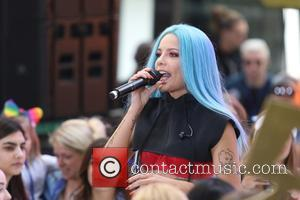 Halsey performs live on NBC Networks