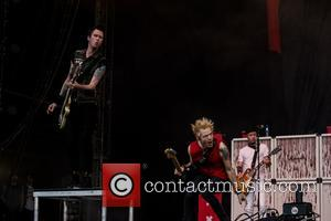 Sum 41 perform on the first day of Download Festival 2017 - Donnington Castle, Donnington, United Kingdom - Friday 9th...