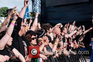 Atmosphere on the first day of Download Festival 2017 - Donnington Castle, Donnington, United Kingdom - Friday 9th June 2017