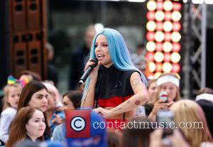 Halsey performs live on the 'Today' show concert series - New York, United States - Friday 9th June 2017