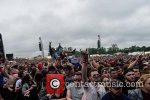 Atmosphere at Download Festival 2017 held at CastleDonnington - Donnington, United Kingdom - Saturday 10th June 2017