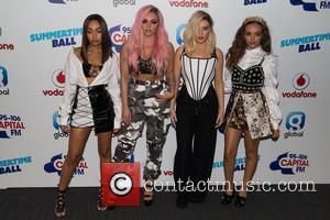 Little Mix, Jade Thirlwall, Perrie Edwards, Leigh-Anne Pinnock , Jesy Nelson at Capital's Summertime Ball held at the Wembley Stadium...