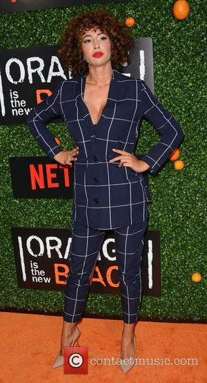 Jackie Cruz at the premiere of the fifth season of Orange is The New Black - New York, United States...