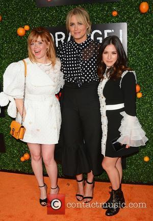 Natasha Lyonne, Taylor Schilling and Yael Stone at the premiere of the fifth season of Orange is The New Black...