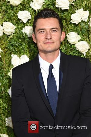 Orlando Bloom on the red carpet at the 71st Tony Awards held Radio City Music Hall - Manhattan, New York,...