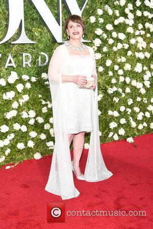Patti Lupone on the red carpet at the 71st Tony Awards held Radio City Music Hall - Manhattan, New York,...