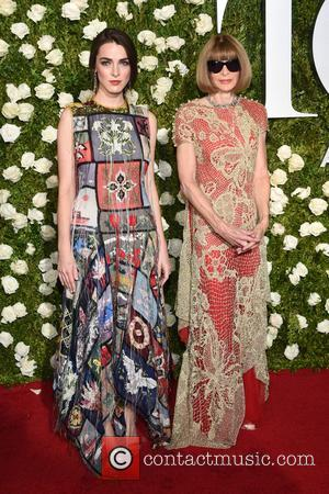 Anna Wintour on the red carpet at the 71st Tony Awards held Radio City Music Hall - Manhattan, New York,...