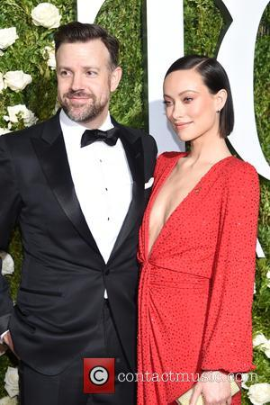 Husband , Olivia Wilde on the red carpet at the 71st Tony Awards held Radio City Music Hall - Manhattan,...
