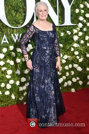 Glenn Close on the red carpet at the 71st Tony Awards held Radio City Music Hall - Manhattan, New York,...