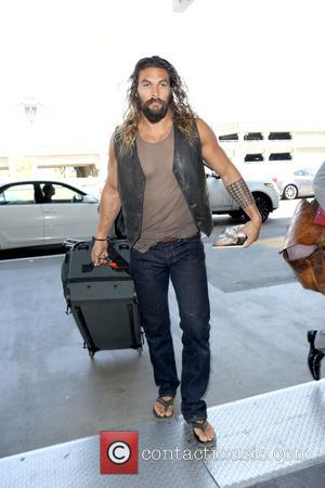 Aquaman actor Jason Momoa departs from LAX - Los Angeles International Airport, Los Angeles, California, United States - Sunday 11th...