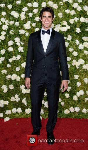 Darren Criss on the red carpet at the 2017 Tony Awards held Radio City Music Hall - New York, United...