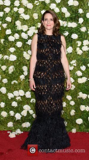 Tina Fey on the red carpet at the 2017 Tony Awards held Radio City Music Hall - New York, United...