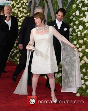 Patti Lupone on the red carpet at the 2017 Tony Awards held Radio City Music Hall - New York, United...