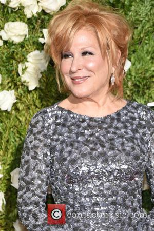 Bette Midler on the red carpet at the 2017 Tony Awards held Radio City Music Hall - Manhattan, New York,...