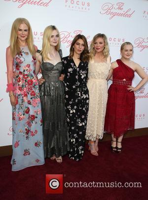 Nicole Kidman, Elle Fanning, Sofia Coppola, Kirsten Dunst and Emma Howard