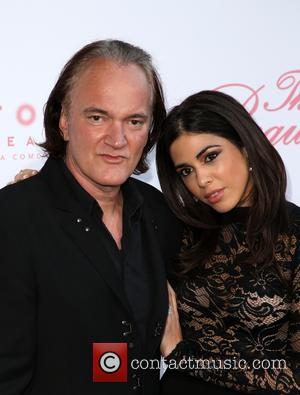 Quentin Tarantino and Daniela Pick at the U.S. Premiere Of