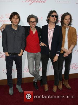 Thomas Mars, Laurent Brancowitz, Christian Mazzalai , Deck D'arcy of Phoenix at the U.S. Premiere Of