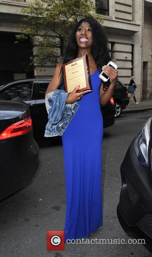 Sinitta at the 'Whitney: Can I Be Me' screening held at The May Fair Hotel - London, United Kingdom -...