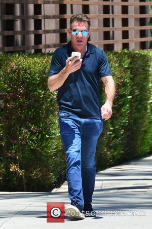 Dennis Quaid Out And About In Aviator Sunglasses Running Errands In Santa Monica. - Pacific Palisades, California, United States -...