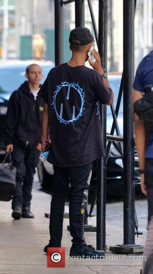 Jaden Smith out and about in New York with a female companion - Manhattan, New York, United States - Wednesday...